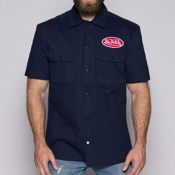 Navy Mechanic Shirt VDMS01