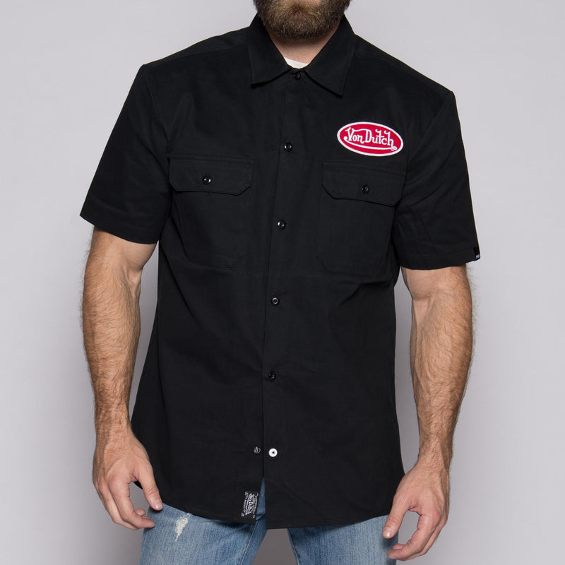 Black Mechanic Shirt VDMS02