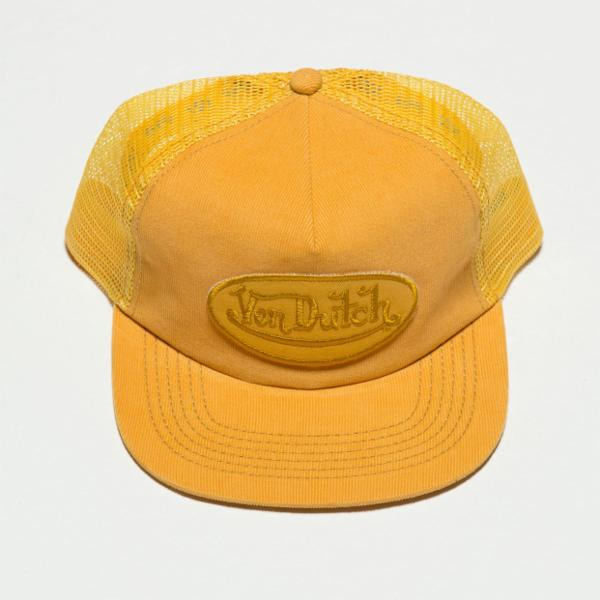 Gold VD Corduroy Trucker Hat 4026