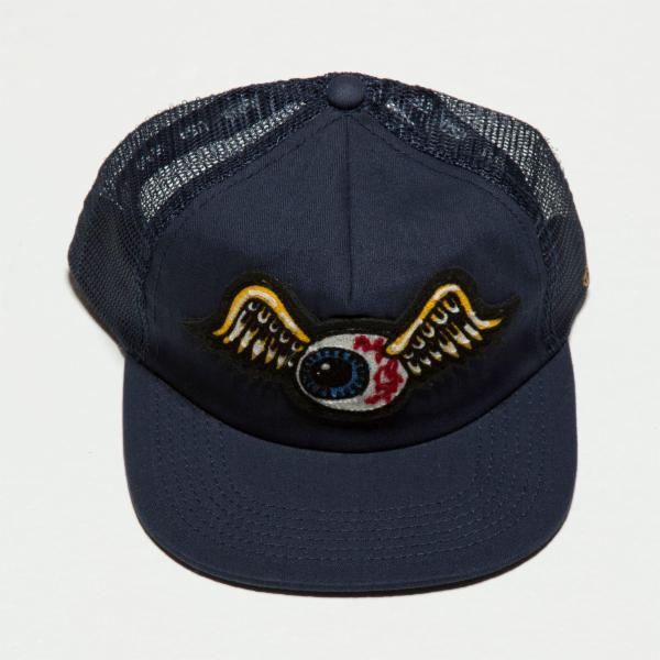 Navy Flying Eyeball Trucker Hat 4004