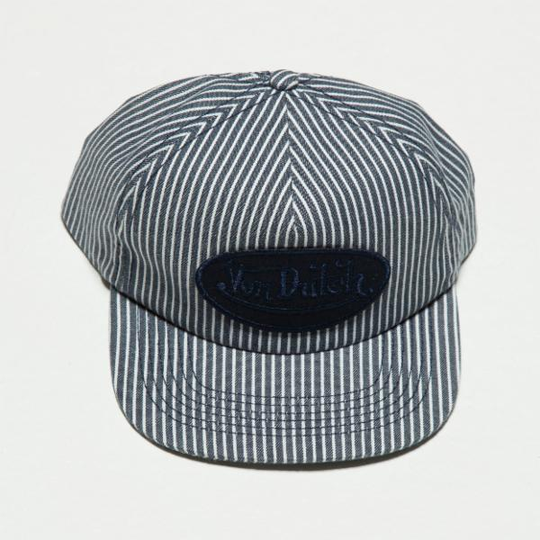 Navy Stripe Striped Vintage Trucker Hat 4035