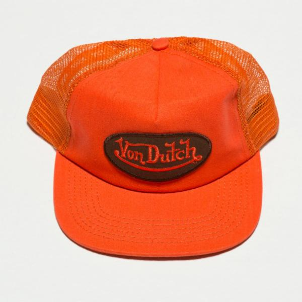 Orange Original Vintage Trucker Hat 4017