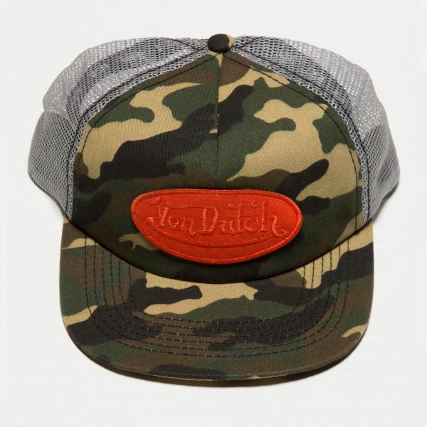 Green Camo Camo Trucker Hat 4006