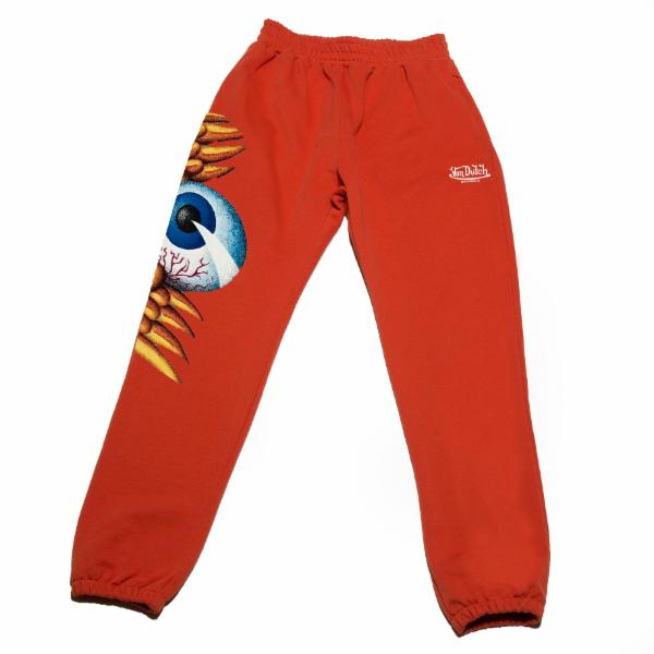 Orange Flying Eyeball Joggers 100