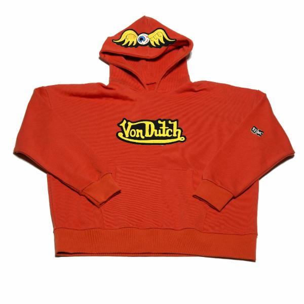 Orange VD Flying Eyeball Hoodie 101