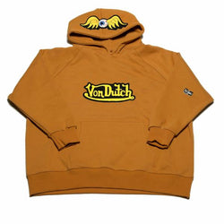 Mustard VD Flying Eyeball Hoodie 101