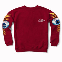 Brick Flying Eyeball Crewneck Sweater 400