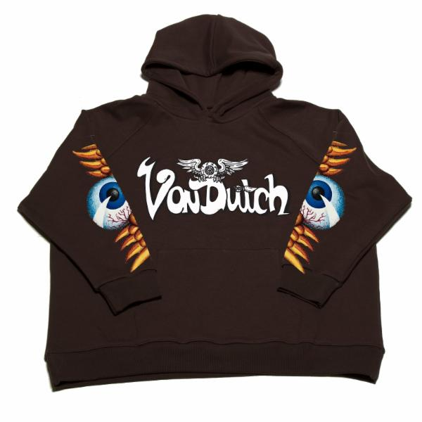 Espresso VD Flying Eyeball Hoodie 100