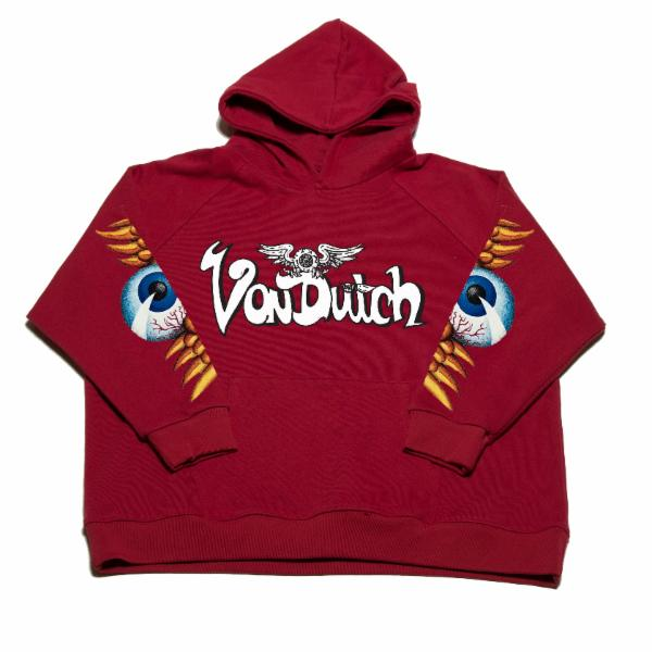 Brick VD Flying Eyeball Hoodie 100