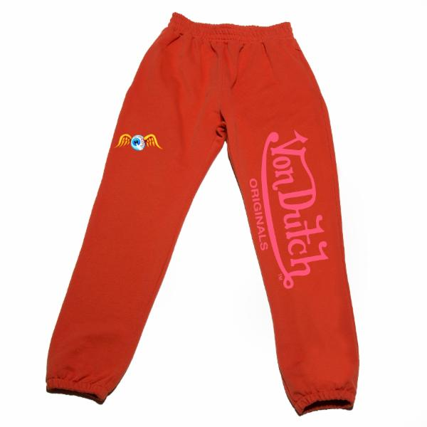 Orange VD Flying Eyeball Joggers 200