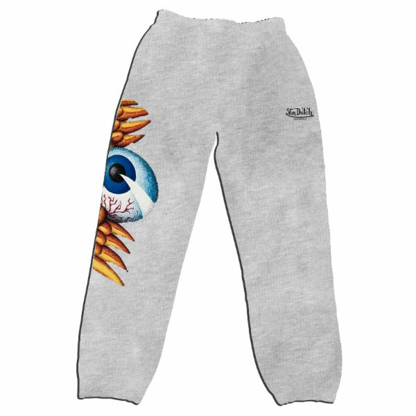 Heather Grey Flying Eyeball Joggers 100