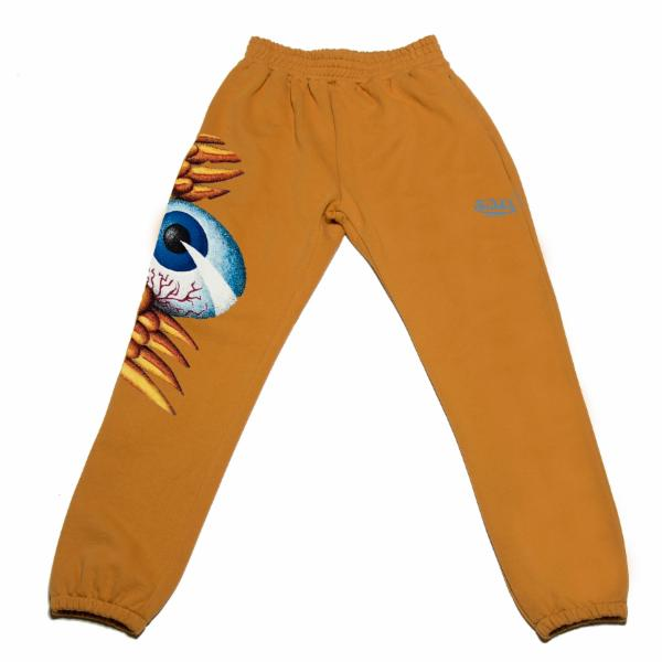Mustard Flying Eyeball Joggers 100