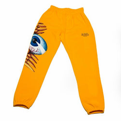 Gold Flying Eyeball Joggers 100