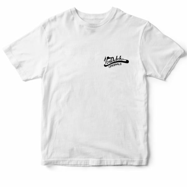 White Original Von Dutch Tee M237