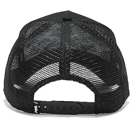 Von Dutch USA Trucker Hat/Cap Back Black Mesh