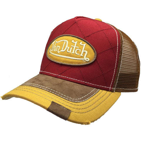 Von Dutch Quilt Trucker Front VDTH 143