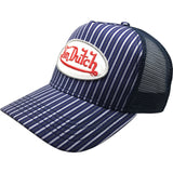 Pin Stripe Trucker 272