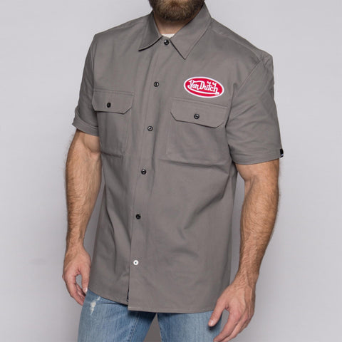 Charcoal Mechanic Shirt VDMS03