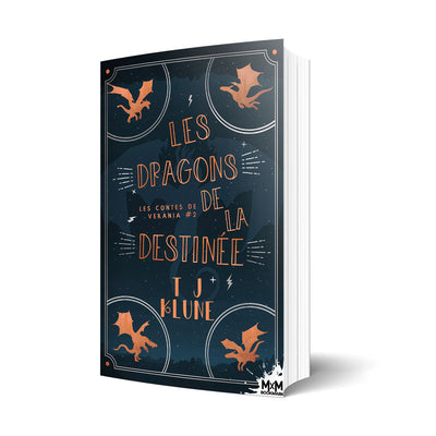 Les dragons de la destinée - Les éditions Bookmark