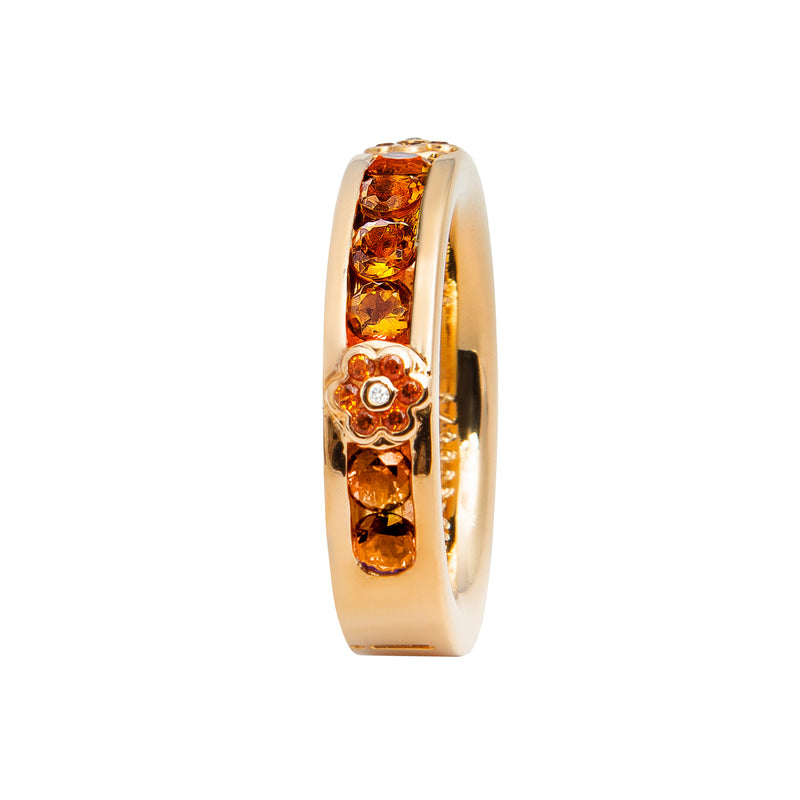 RING YELLOW GOLD CITRIN LCD-3055/13