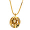 Pendants yellow gold Citrine & tsavorite and Diamonds Cnp-0028-39
