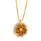 Pendants yellow gold Citrine and Diamonds cnp-0185/11