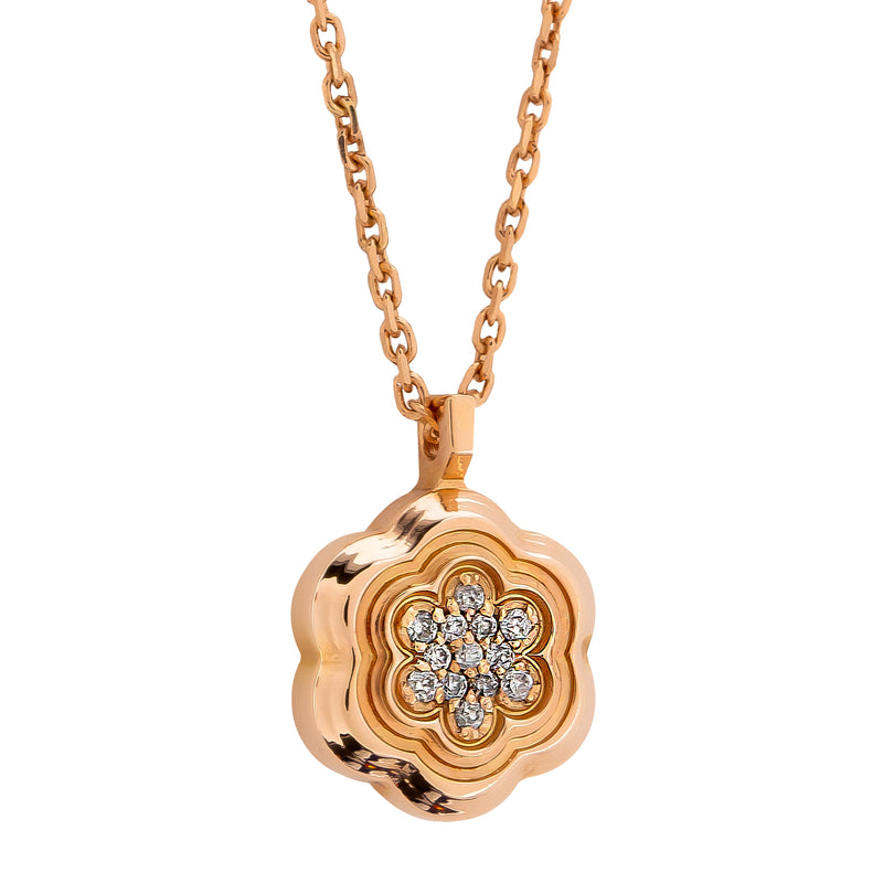 Pendant Flower  GOLD Diamond CNP-0203/74