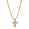 Pendants yellow gold Cross Diamonds Cnp-0442-23