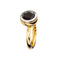 RING YELLOW GOLD Garnet LCD-114/32