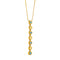 Pendant Yellow Gold Topaz and Diamonds Cnp-0325-2