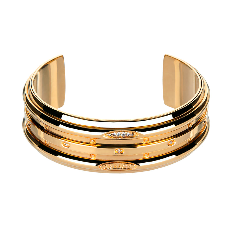 Bangle Yellow Gold &Diamonds