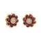 Earings Rose gold Ruby and Diamonds Cne-0004/23