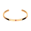 Bracelet Rose Gold Ruby & Diamond cnb-0024/8