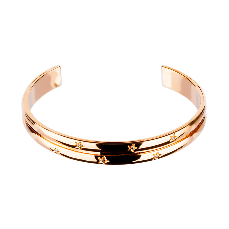 Bangle  ROSE GOLD DIAMOND OREAGE -3288 CNB-0107