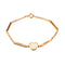 Bracelet Yellow Gold Pearl& Diamonds