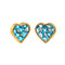 Earings  gold topaz and Diamonds cne-0042
