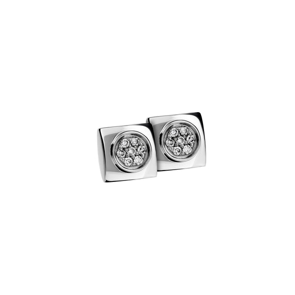 Earrings Silver Diamond CNE-0050/17