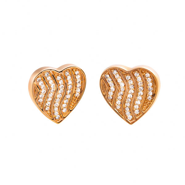 Earings  Rose gold  Diamonds Cne-0151/2