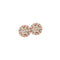 Earrings Rose Gold Diamonds CNE-0185/4