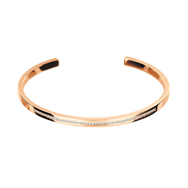 Bangle  Rose GOLD    Diamond cnb-0139