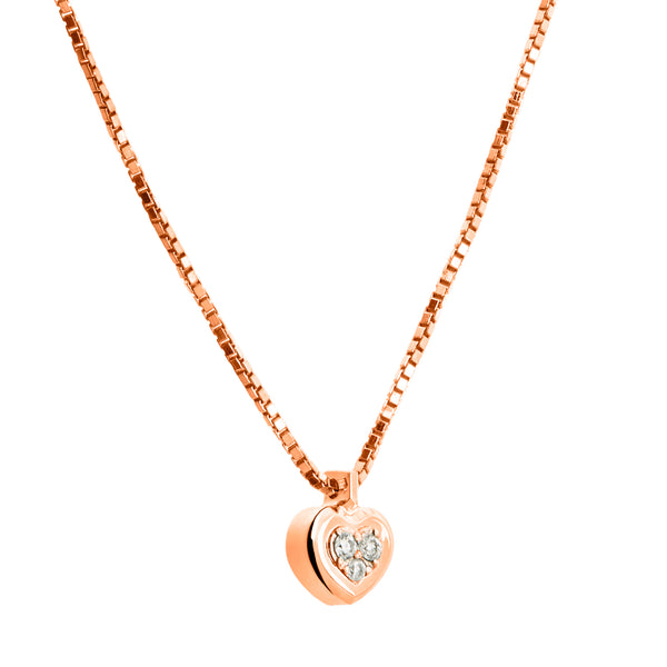 Pendant Rose Gold Diamond