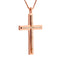 Pendant Rose GOLD Cross Diamond CNP-0605/2