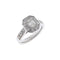 Ring Solitaire Gold  Diamond  ca16036
