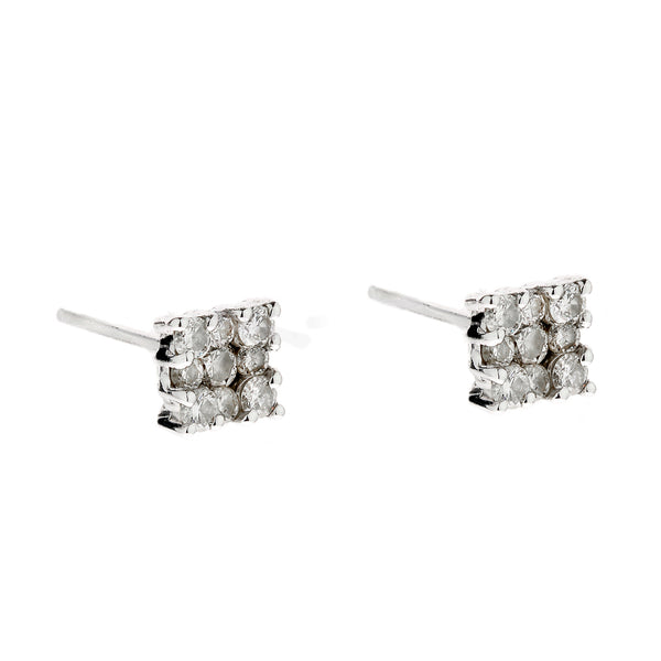 Earring gold diamond ca 22008