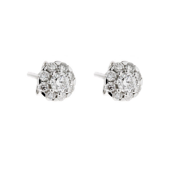 Earring white gold ca 23344