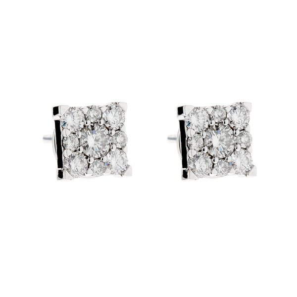 Earring gold diamond ca 22421