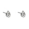 Earring gold diamond ca 23019