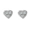 Earring gold diamond ca 16212
