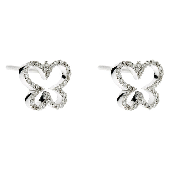 Earring gold diamond ca 21021