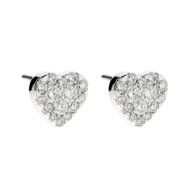 Earring gold diamond ca 22704-1